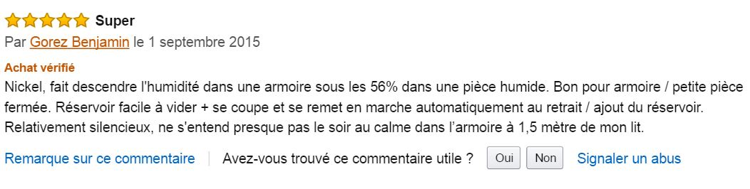 pro_breeze_mini_deshumidificateur_meilleur_commentaire_client_amazon
